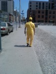 The man who loved the color yellow